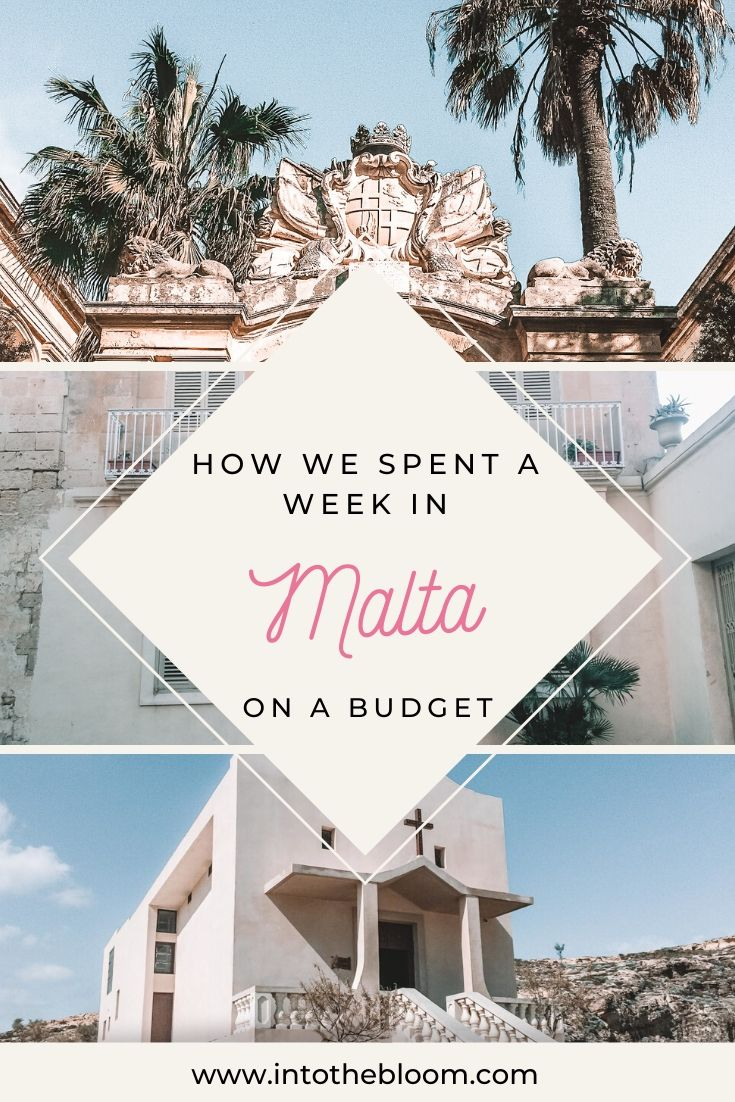 The ultimate travel guide describing how we spent a week in Malta on a student budget
