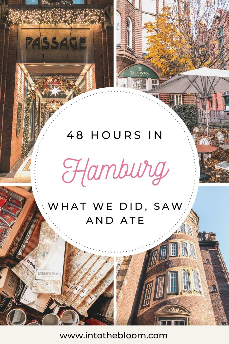 A blog post describing how we spent 48 hours in Hamburg, Germany