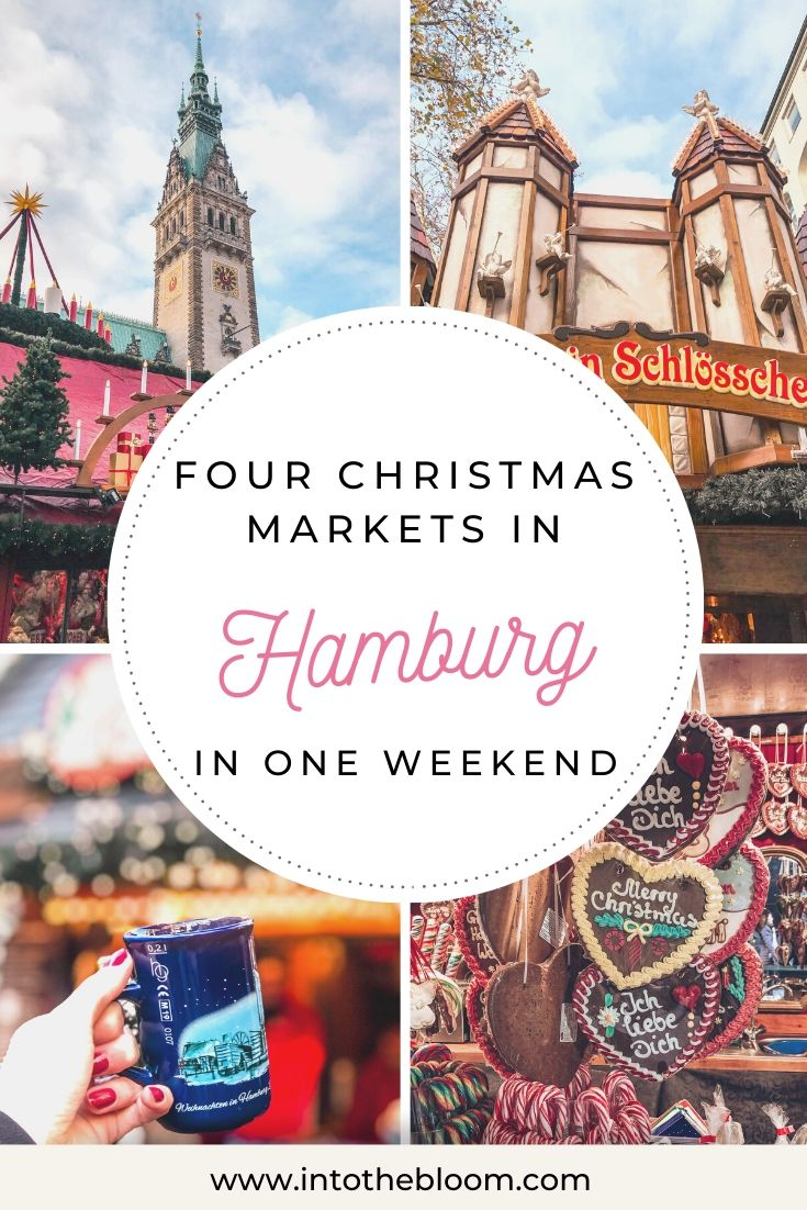 A blog post describing our visit at four different Christmas markets in Hamburg, Germany