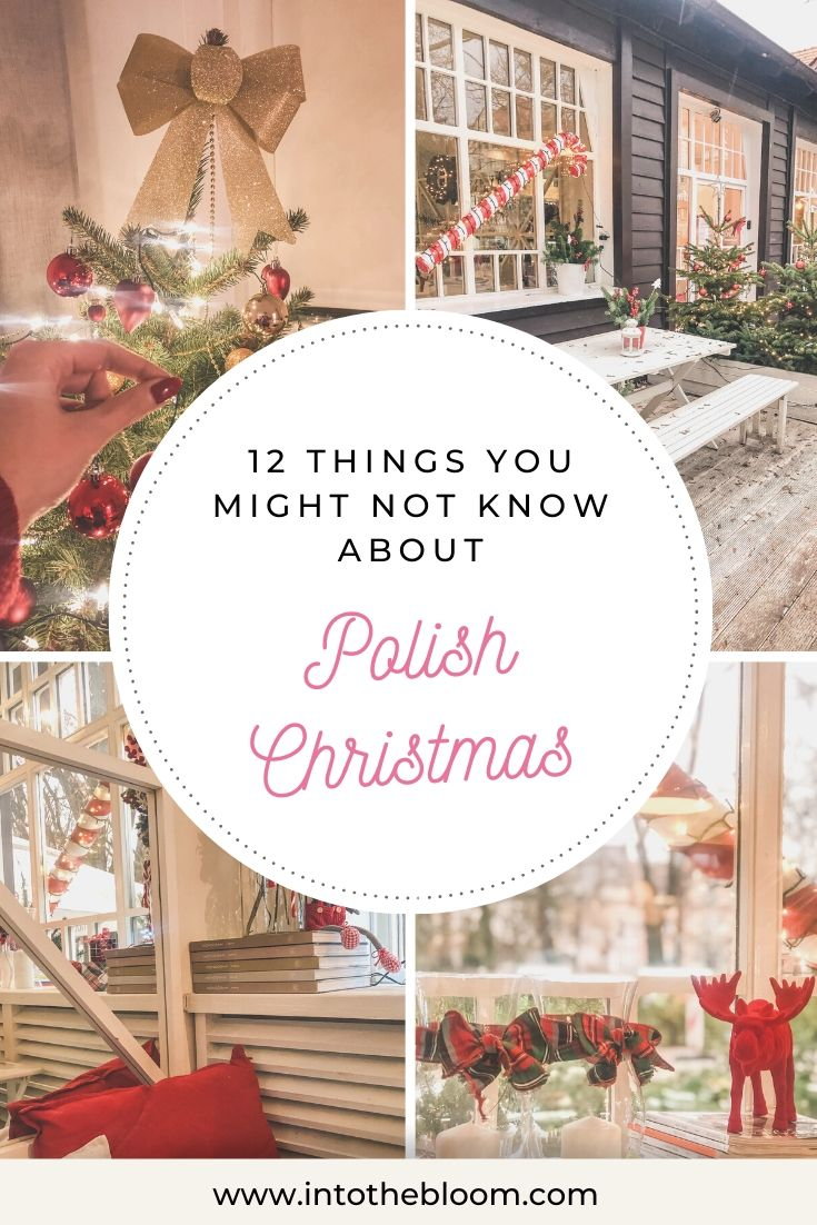 A blog post listing 12 things you might not know about Polish Christmas