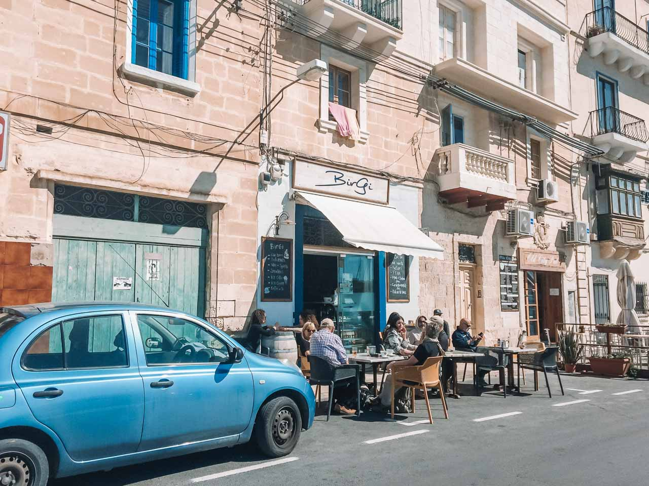 Cafe Birgi in Birgu / Vittoriosa, Malta