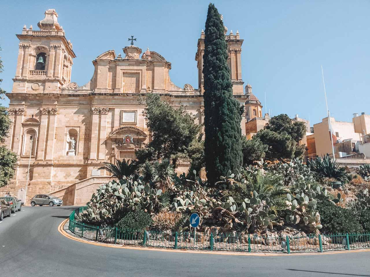 A church in Birgu / Vittoriosa, Malta
