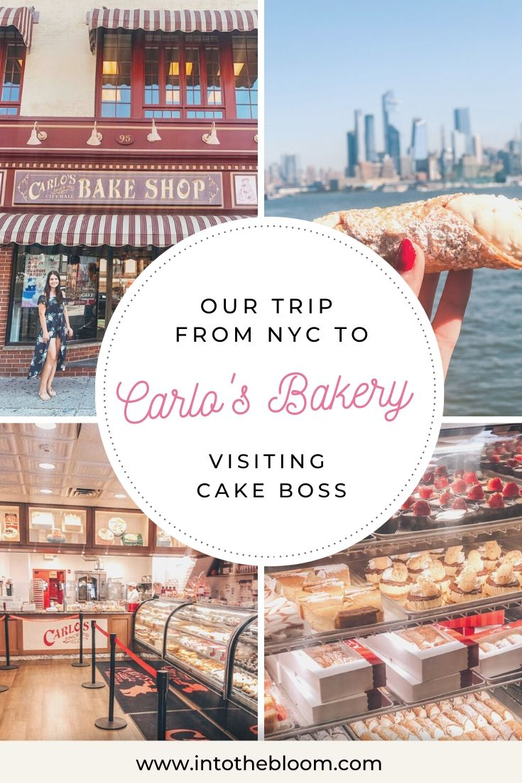 Our trip from NYC to Carlo's Bakery visiting Cake Boss