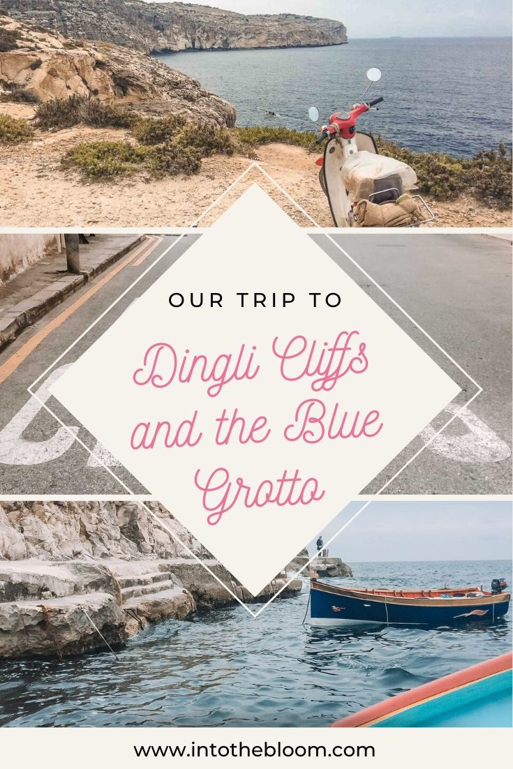 Our trip to Dingli Cliffs and the Blue Grotto, Malta