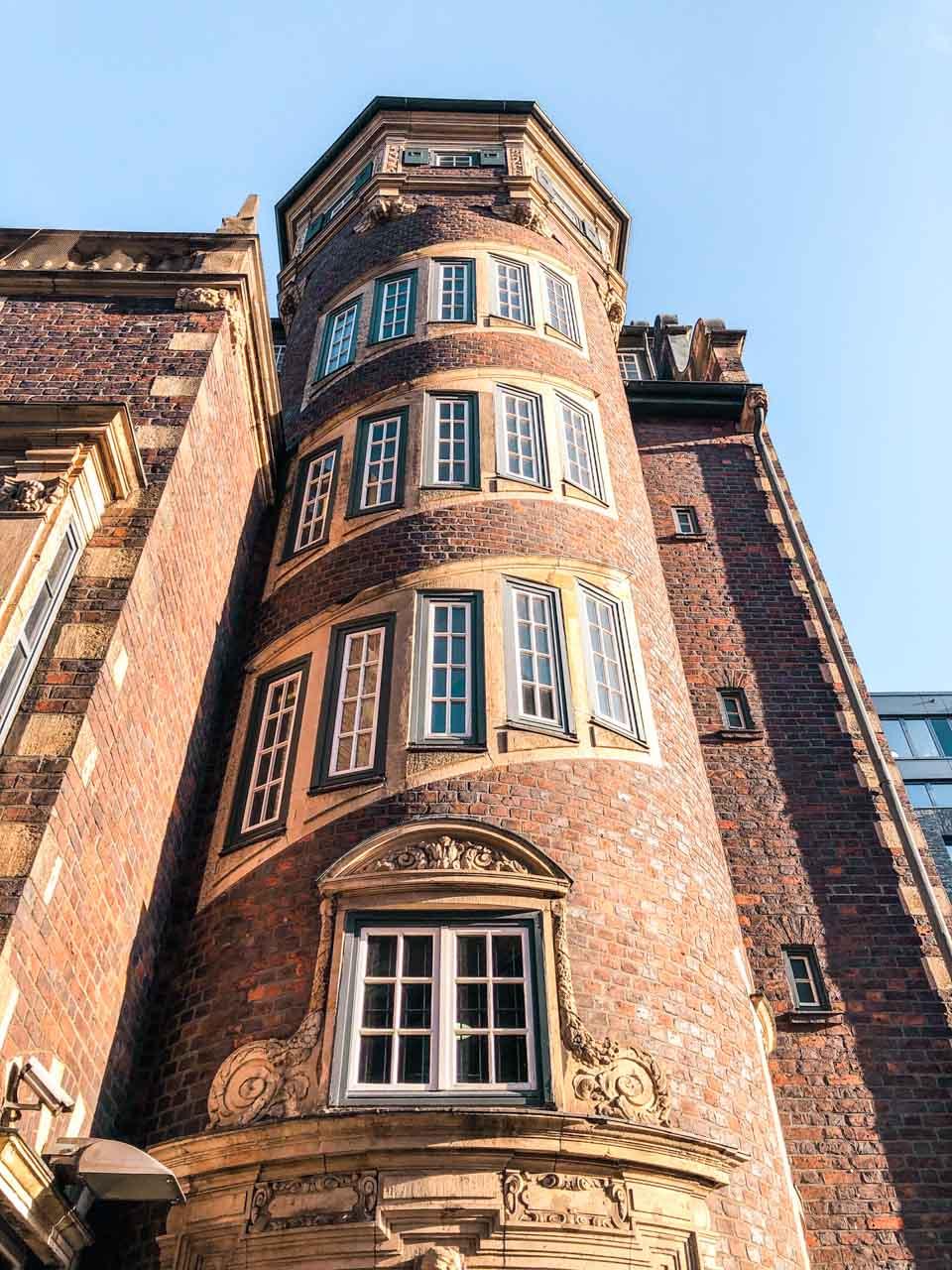 The Bishop's Tower in Hamburg, Germany