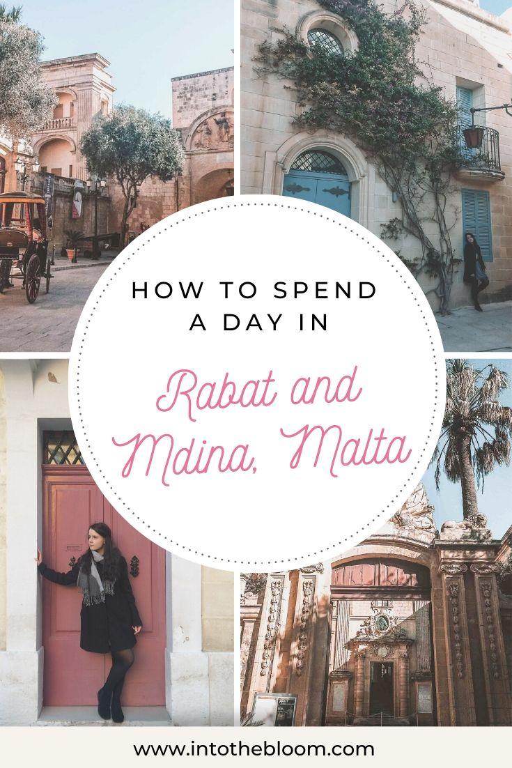 A blog post recapping my trip to Rabat and Mdina, Malta.