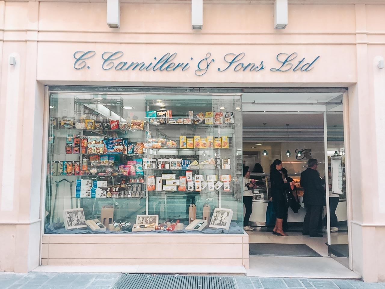 C. Camilleri & Sons - the oldest confectionary shop in Valletta, Malta