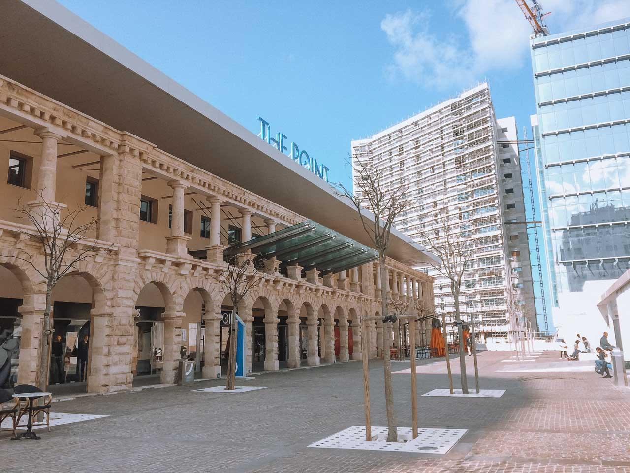 The Point mall in Sliema, Malta