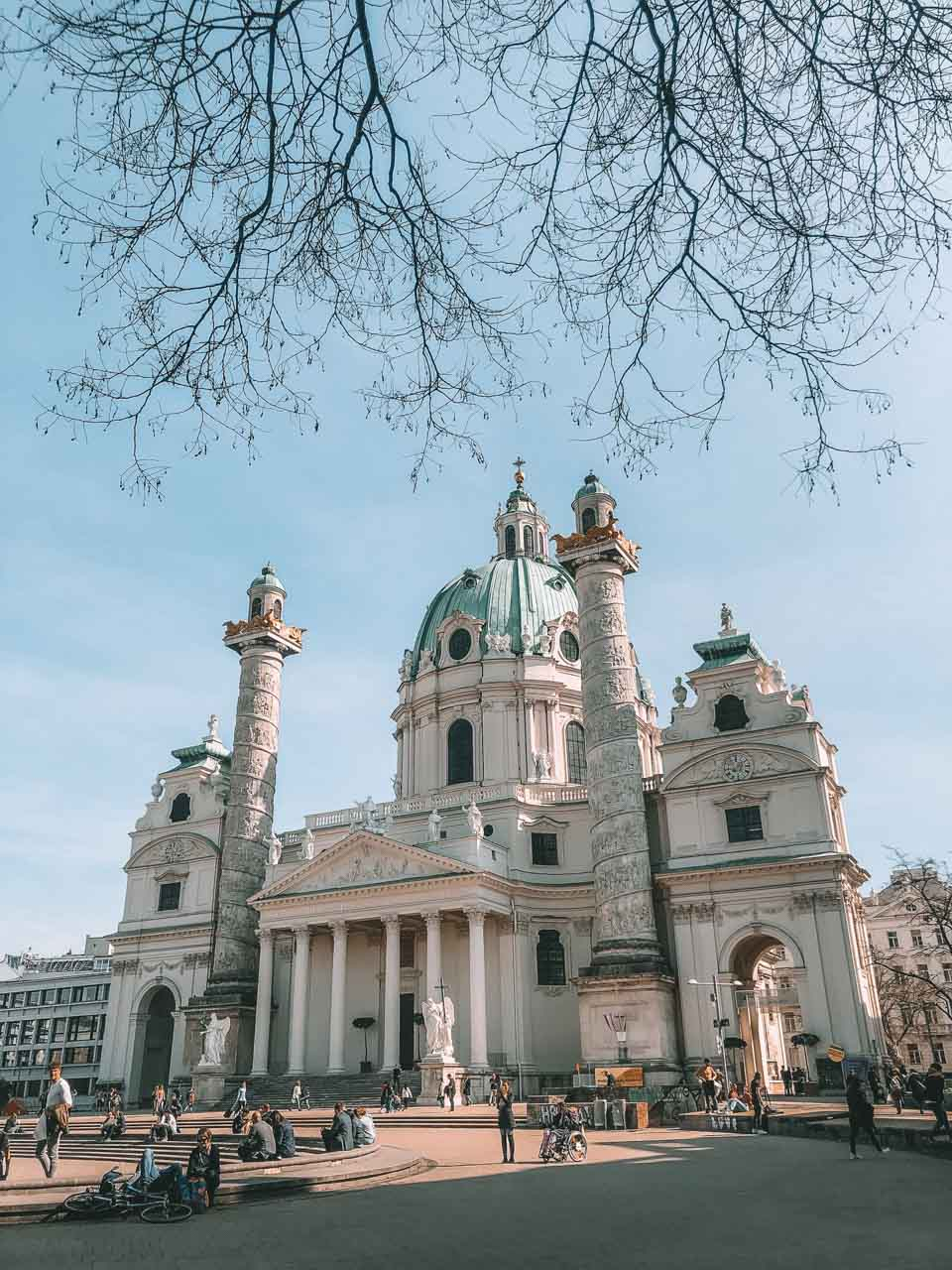 St. Charles' Church in Vienna, Austria