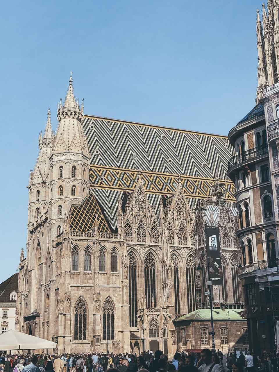 Stephansdom (St. Stephen's Cathedral) in Vienna, Austria