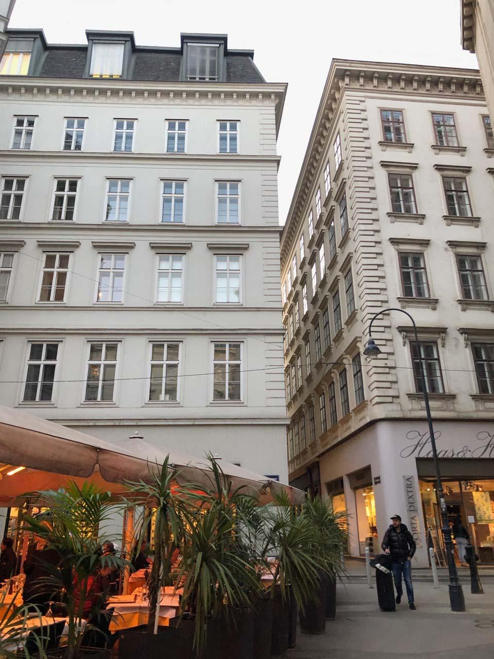 A street in Vienna, Austria