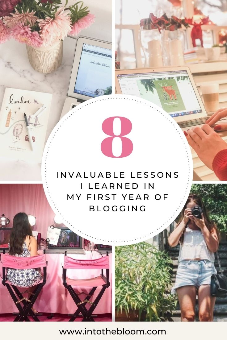 8 Invaluable Blogging Lessons I Learned in My First Year of Blogging