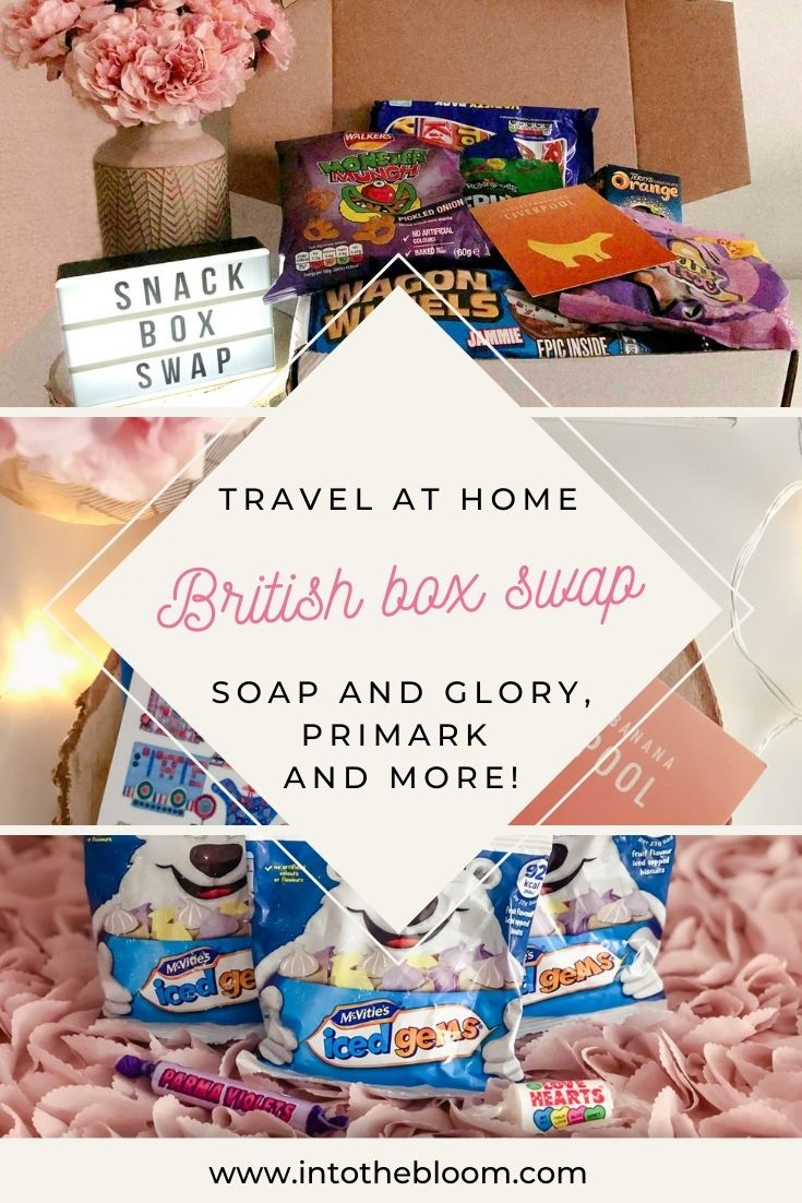 As our travel options are rather limited right now, Katy from The Lilac Scrapbook reached out to me and asked if I wanted to do a snack box swap with her. I miss my annual trips to the UK, so naturally, I jumped at the chance! She sent me a variety of sweet and savoury British snacks along with some beauty bits from Soap and Glory, Primark, and more. Check out my post if you would like to know what I received from her and what my first impressions were!